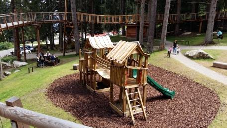 Il nuovo parco giochi di Marilleva 1400